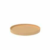 28'' Diameter Natural Wood Full Circle Shelf Only