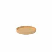 18'' Diameter Natural Wood Full Circle Shelf Only