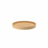 18'' Diameter Banded Wood Full Circle Lazy Susan w/steel bearing