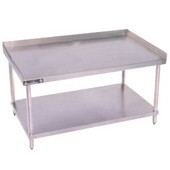 Aero Stainless Steel Equipment Stands w/ Lower Shelf, 72'' W x 30'' D