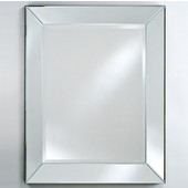 Radiance Venetian Cut Glass Mirror, 24''W x 30''H