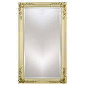 Estate 24''W x 30''H Wood Framed Rectangular Mirror in Four Available Finishes
