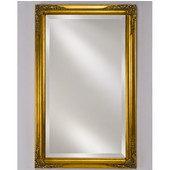 Estate 16''W x 26''H Wood Framed Rectangular Mirror in Four Available Finishes