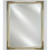 Estate 16''W x 22''H Wood Framed Rectangular Mirror in Four Available Finishes