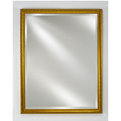 - Estate Collection Wall Mirror, Traditional, 20'' W x 26'' H, Antique Gold