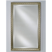 - Estate Collection Wall Mirror, Traditional, 24'' W x 30'' H, Antique Silver