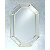 Octangular Wall Mirror, Vertical, 25''W x 37''H