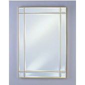 Rectangular Wall Mirror, Vertical, 26''W x 37''H