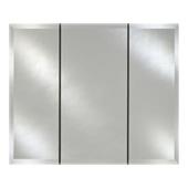 - Broadway Collection Triple Door Medicine Cabinet, 36'' W x 4'' D x 30'' H, Beveled Edge