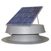 Roof Mounted 20 Watt Solar Attic Fan, 1200 CFM, vents up to 2000 sq. ft