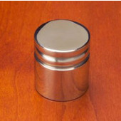 Chicago Knob Arc Bevel, Mirror Stainless Steel, 7/8'' diameter, 1'' long