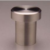 Chicago Circular �T'' Shap Knob, Brushed Stainless Steel, 7/8'' diameter, 1'' long