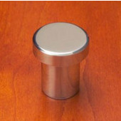 Chicago Circular �T'' Shap Knob, Mirror Stainless Steel, 7/8'' diameter, 1'' long