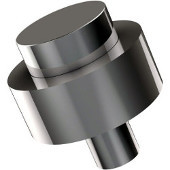 101 Series Cabinet Hardware 1-1/2'' Diameter Round Cabinet Knob in Polished Chrome (Standard Finish), Available in Multiple Finishes