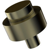 101 Series Cabinet Hardware 1-1/2'' Diameter Round Cabinet Knob in Satin Brass (Premium Finish), Available in Multiple Finishes