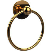Skyline Collection Towel Ring, Standard Finish, Polished Brass