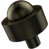 101A Series Cabinet Hardware 1-1/2'' Diameter Round Cabinet Knob in Antique Brass (Premium Finish), Available in Multiple Finishes