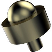 101A Series Cabinet Hardware 1-1/2'' Diameter Round Cabinet Knob in Satin Brass (Premium Finish), Available in Multiple Finishes