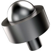 101A Series Cabinet Hardware 1-1/2'' Diameter Round Cabinet Knob in Satin Chrome (Premium Finish), Available in Multiple Finishes