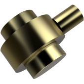 102 Series Cabinet Hardware 1-2/5'' Diameter Round Cabinet Knob in Satin Brass (Premium Finish), Available in Multiple Finishes