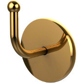 Skyline Collection Robe Hook, Unlacquered Brass