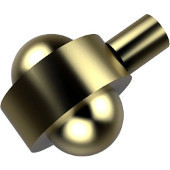 102A Series Cabinet Hardware 1-3/5'' Diameter Round Cabinet Knob in Satin Brass (Premium Finish), Available in Multiple Finishes
