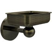 Skyline Collection Soap Dish w/ Liner, Premium Finish, Antique Brass