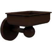 Skyline Collection Soap Dish w/ Liner, Premium Finish, Rustic Bronze
