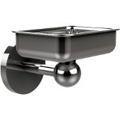 Skyline Collection Soap Dish w/ Liner, Premium Finish, Brushed Bronze