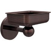 Skyline Collection Soap Dish w/ Liner, Premium Finish, Antique Copper