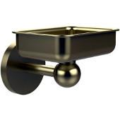 Skyline Collection Soap Dish w/ Liner, Premium Finish, Satin Brass