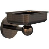 Skyline Collection Soap Dish w/ Liner, Premium Finish, Venetian Bronze
