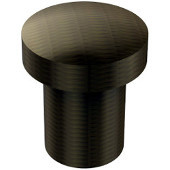 105 Series Designer Cabinet Knobs Collection 3/4'' Diameter Round Flat Top Cabinet Knob in Antique Brass (Premium Finish), Available in Multiple Finishes