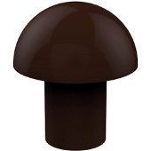 106 Series Designer Cabinet Knobs Collection 1'' Diameter Round Mushroom Cabinet Knob in Antique Bronze (Premium Finish), Available in Multiple Finishes