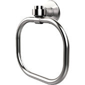 Continental Collection Towel Ring, Premium Finish, Satin Chrome