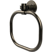 Continental Collection Towel Ring with Dotted Accents, Antique Pewter