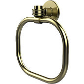 Continental Collection Towel Ring with Dotted Accents, Satin Brass