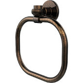Continental Collection Towel Ring with Twist Accents, Venetian Bronze