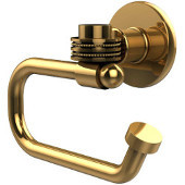 Continental Collection Euro Style Toilet Tissue Holder with Dotted Accents, Polished Brass