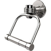 Continental Collection 2 Post Toilet Tissue Holder with Groovy Accents, Polished Chrome