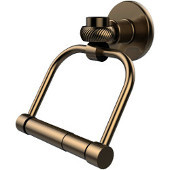Continental Collection 2 Post Toilet Tissue Holder with Twisted Accents, Brushed Bronze