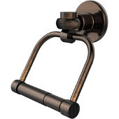 Continental Collection 2 Post Toilet Tissue Holder with Twisted Accents, Venetian Bronze