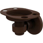 Continental Collection Tumbler/Toothbrush Holder, Premium Finish, Rustic Bronze