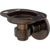 Continental Collection Tumbler and Toothbrush Holder with Groovy Accents, Venetian Bronze