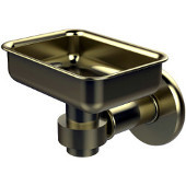 Continental Collection Soap Dish, Premium Finish, Satin Brass