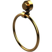 Venus Collection Towel Ring, Standard Finish, Polished Brass