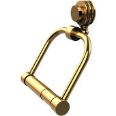 Venus Collection 2 Post Toilet Tissue Holder with Dotted Accents, Unlacquered Brass
