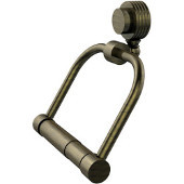 Venus Collection 2 Post Toilet Tissue Holder with Groovy Accents, Antique Brass
