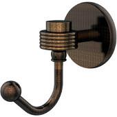 Satellite Orbit One Robe Hook with Groovy Accents, Venetian Bronze