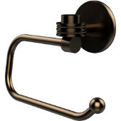 Satellite Orbit One Collection Euro Style Toilet Tissue Holder with Dotted Accents, Brushed Bronze
